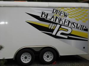 trailer lettering