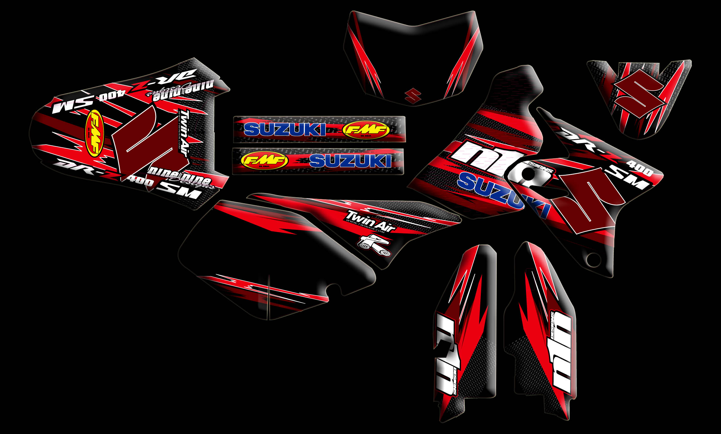 Suzuki Full Kits Nineonenine Designs