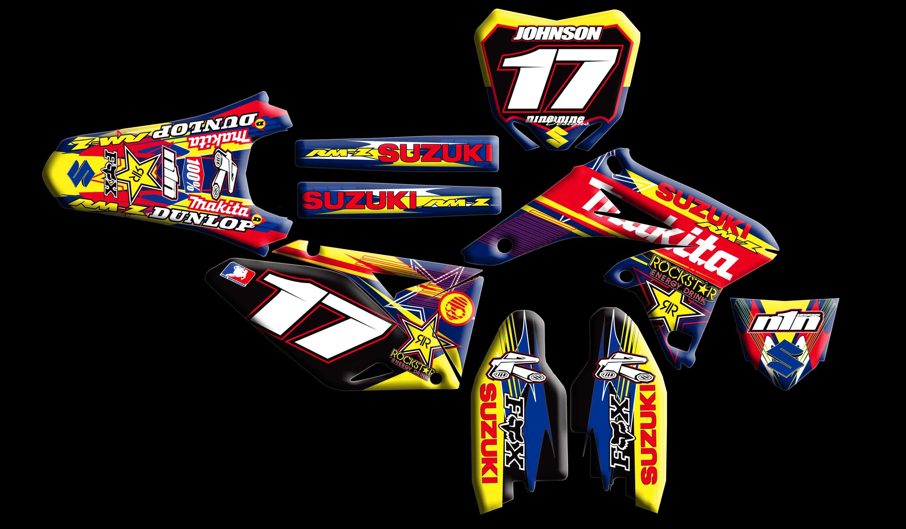 Suzuki Full Kits : :: Nineonenine Designs