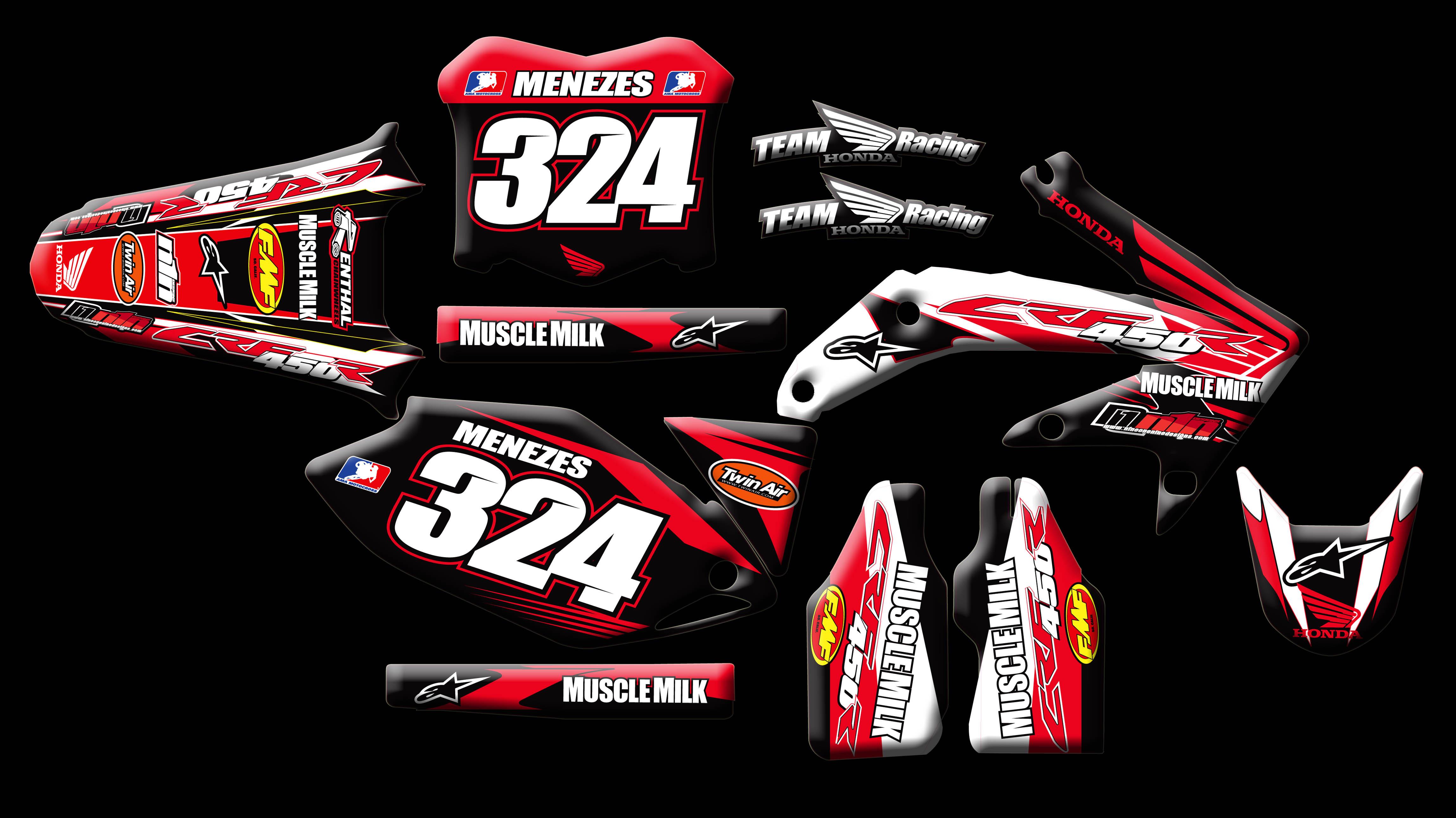 Custom Motocross Graphics Honda CRF450R