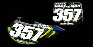 ustom motocross graphics, pre-printed number plates, motocross full kits, graphics kit,