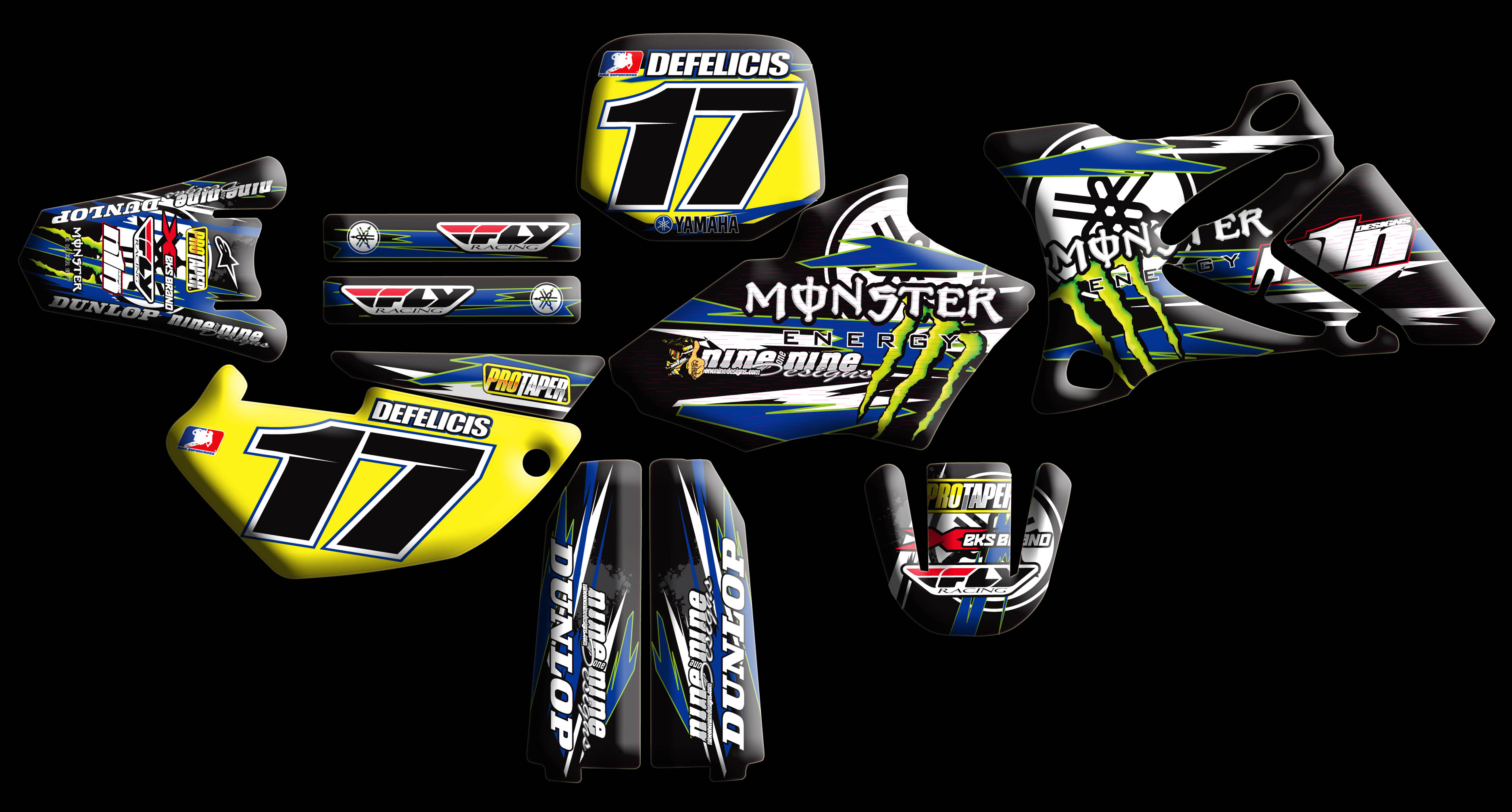 Yamaha full kits nineonenine designs for Designs com