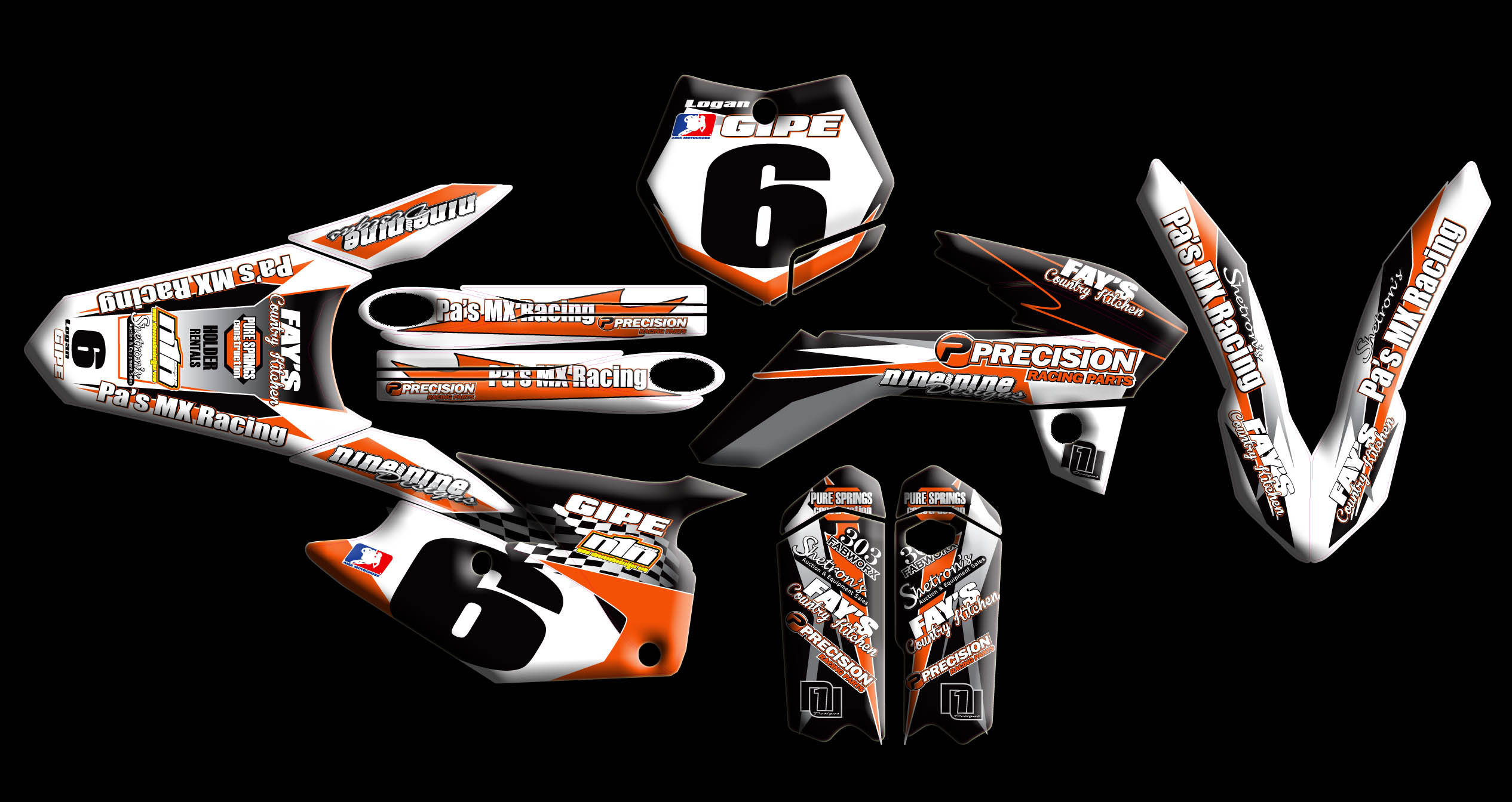 ktm full kits : :: nineonenine designs ::