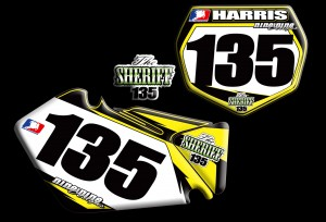 2012 Suzuki RMZ 250 Number Plates from nineonenine designs