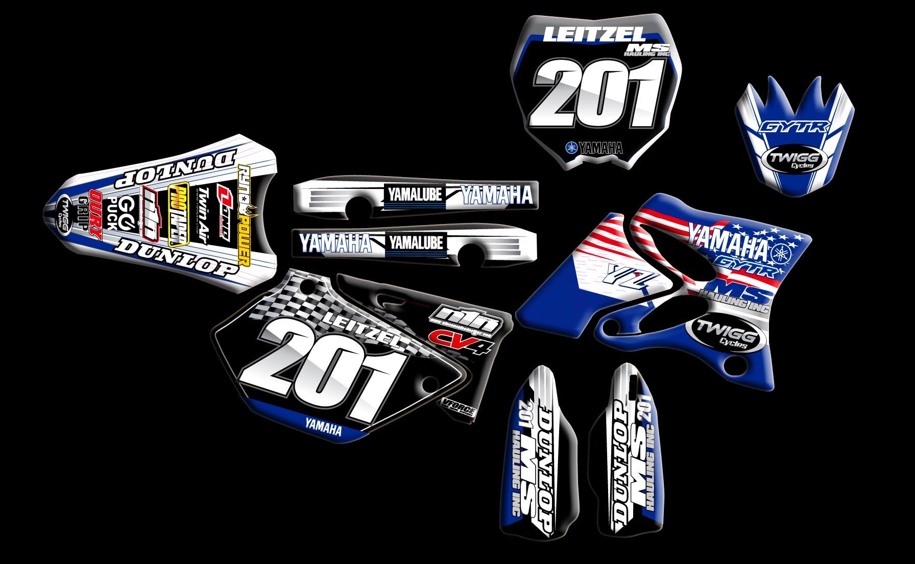 Yamaha Full Kits Nineonenine Designs