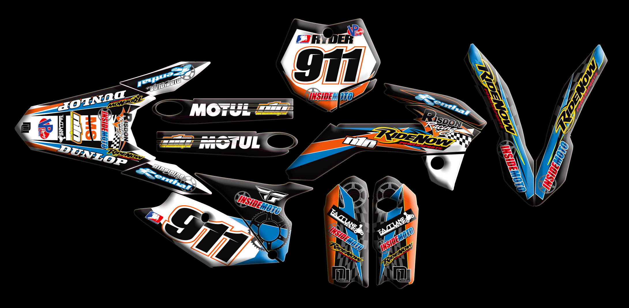 KTM Full Kits : :: Nineonenine Designs