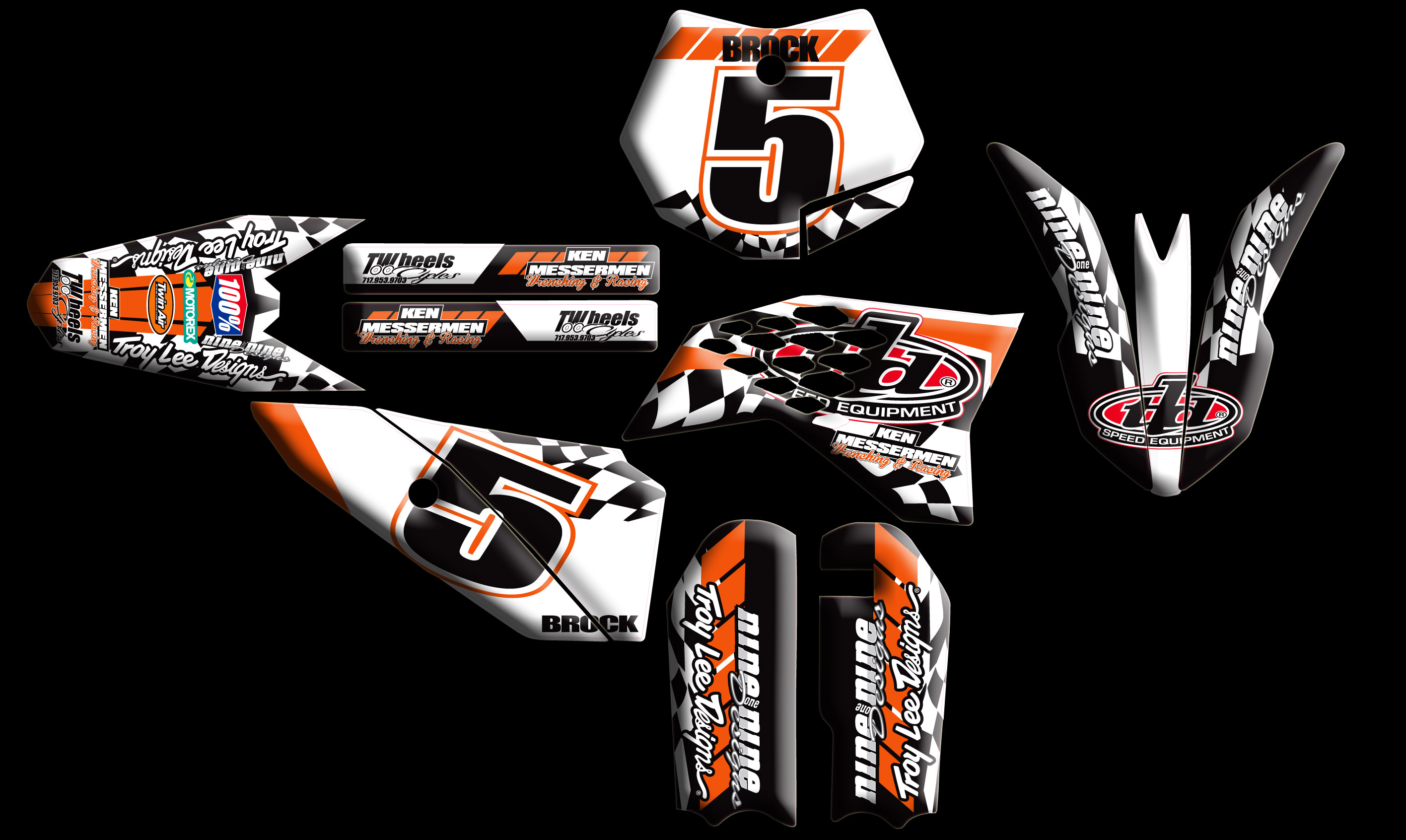 KTM Full Kits Nineonenine Designs