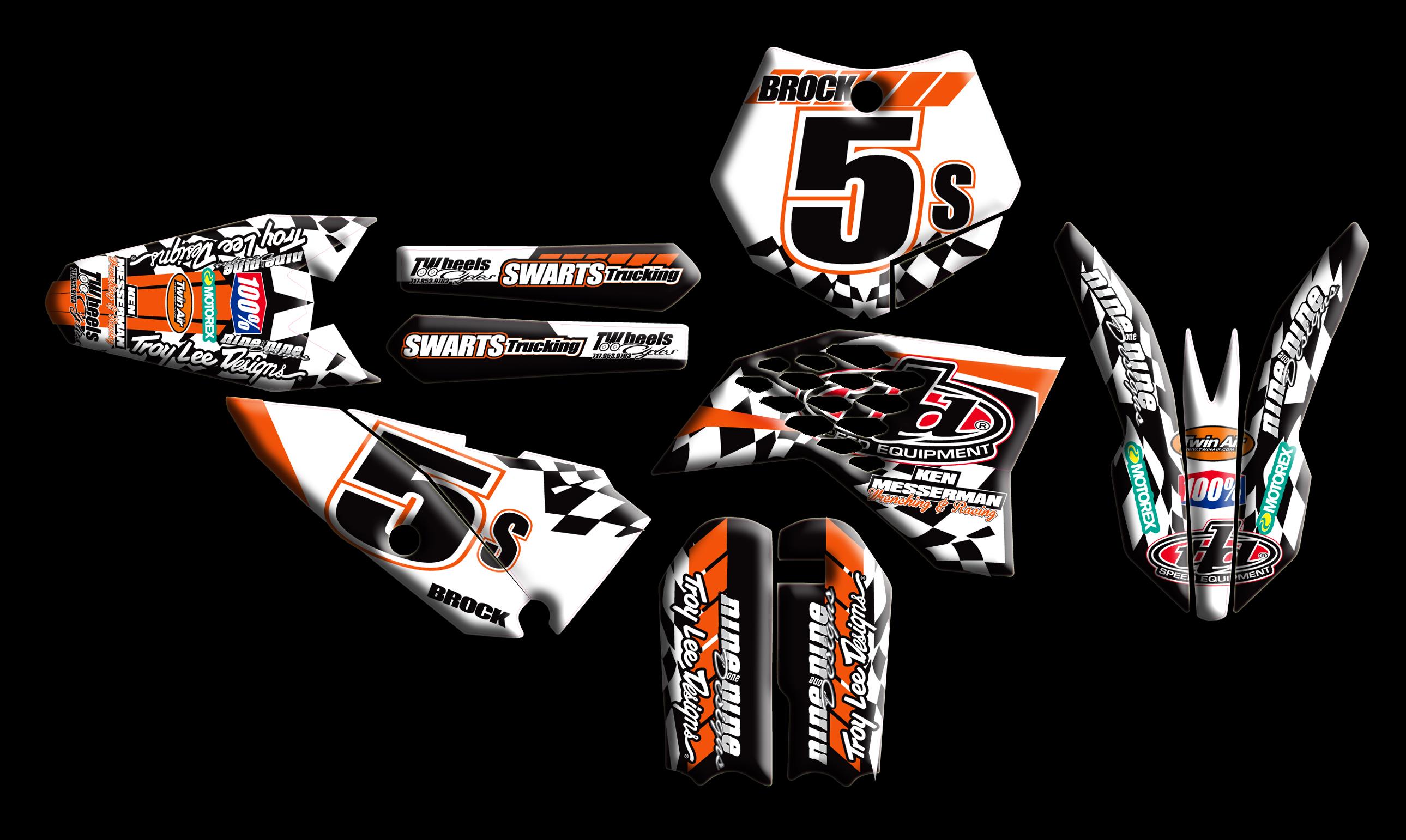 KTM Full Kits : :: Nineonenine Designs
