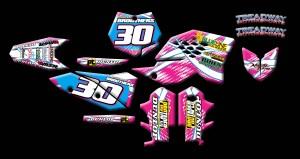 ktm motocross graphics