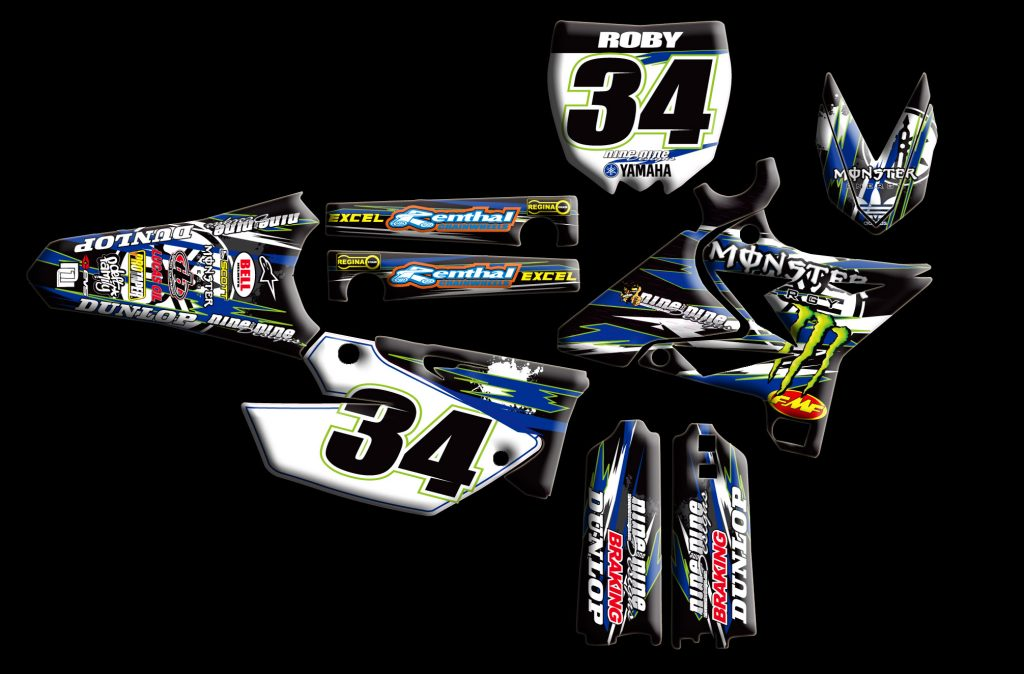 Yamaha Yz 2-stroke Re-style kit