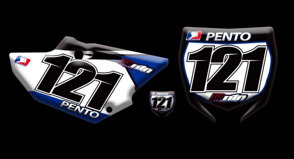 Yamaha 2017 Yz125 number plates