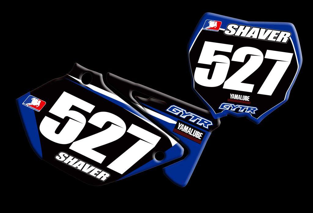Yamaha 2014 Yz250 2 stroke number plates