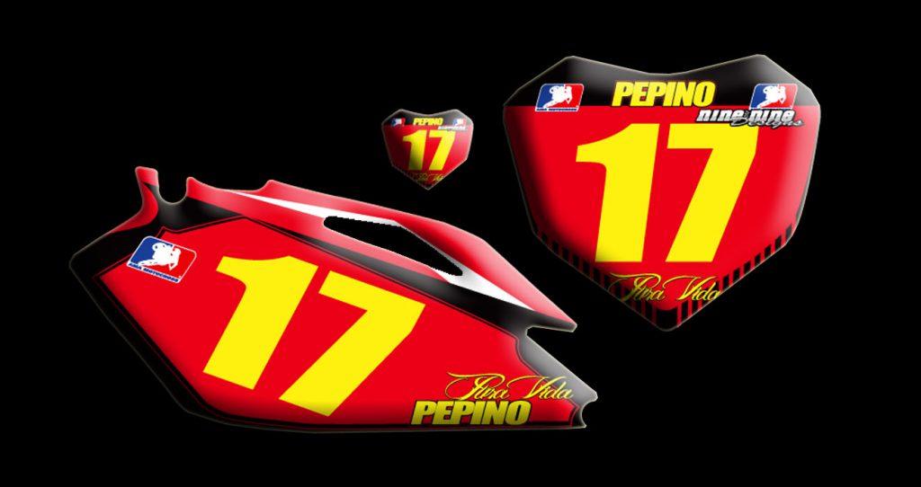 Honda 2010 Crf250 number plates